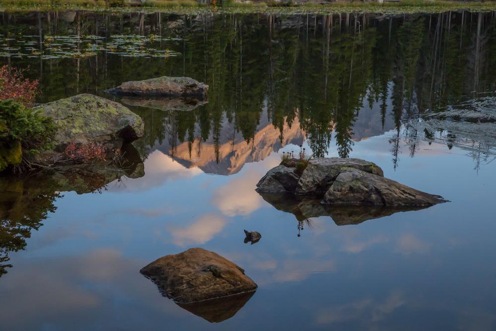Nymph Lake and Long's Peak