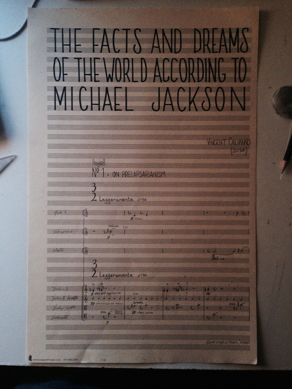 Page 1 of  Michael Jackson .