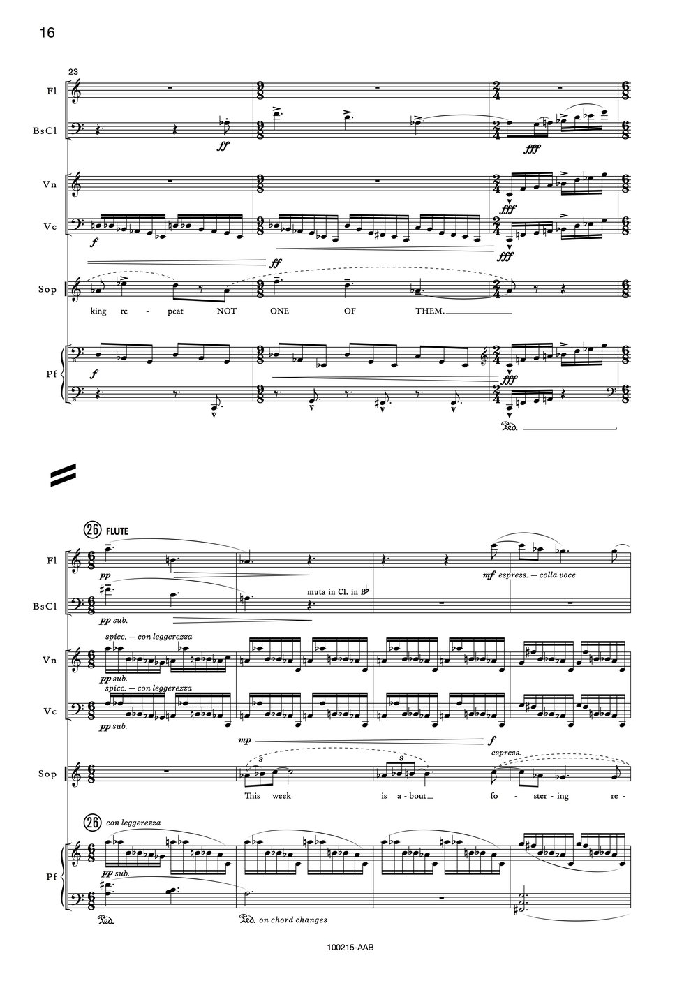 Ensemble Score Example