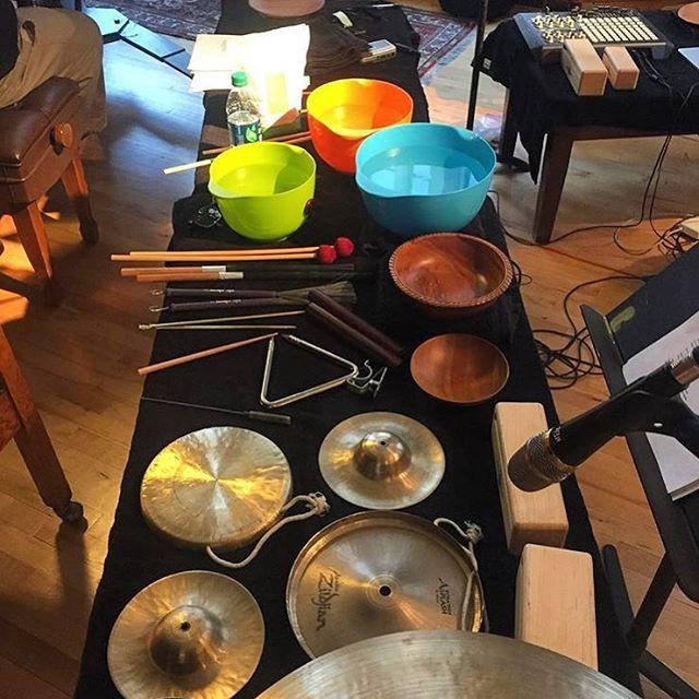 Standard instrumentation 📸: @zlarabee
