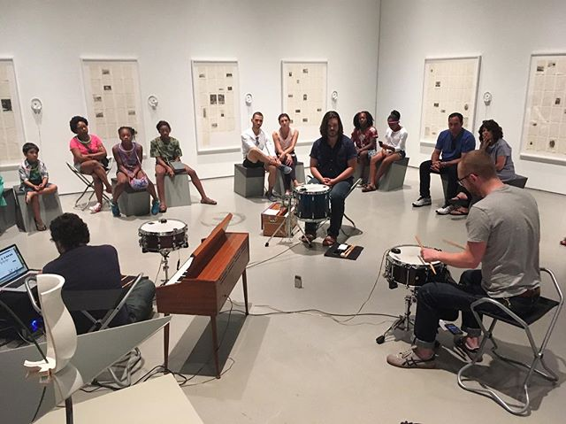 "From our gallery concert this past Saturday in response to Jane Benson's show ""Half-Truths"" at @cincycac"