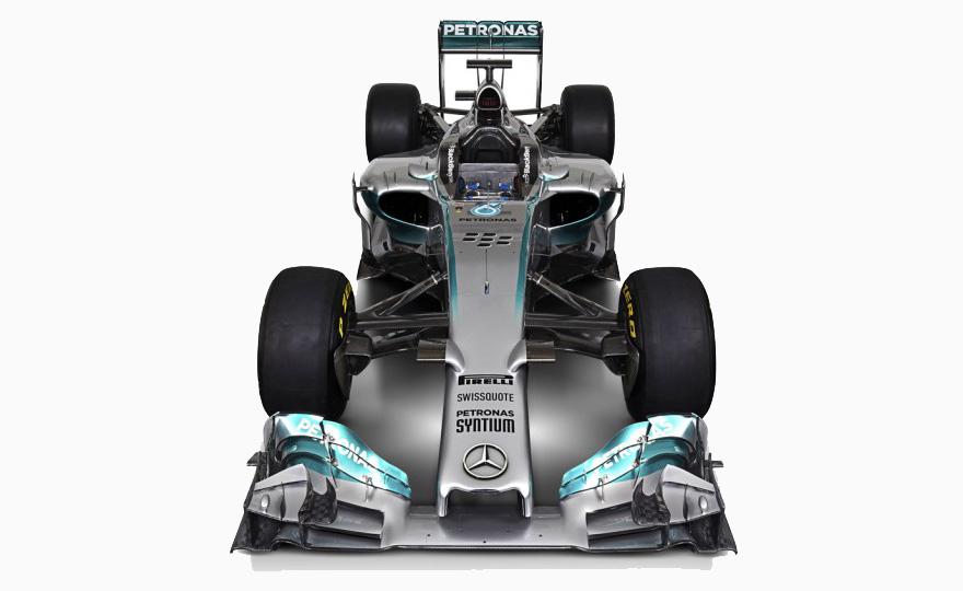 """2014 Mercedes Foruma 1 Car """"Silver Arrow"""""""