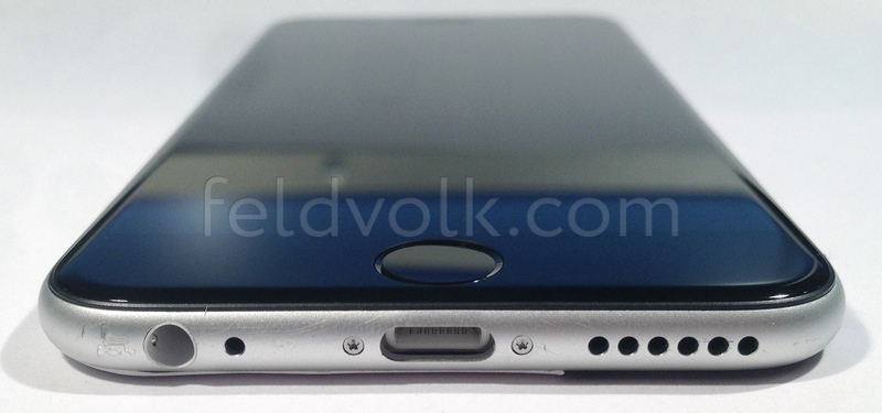 2014 iPhone 6 leak assembled unit front bottom