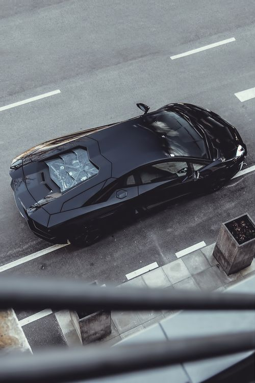 Lamborghini Aventador Matte Satin Black