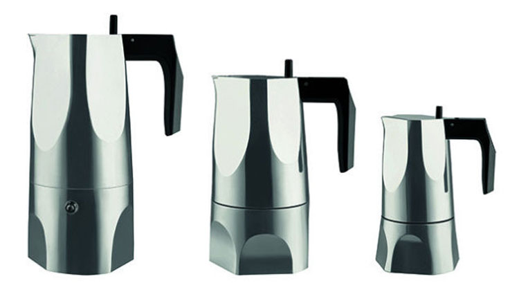 Obsidian by Mario Trimarchi - Stovetop Espresso Maker