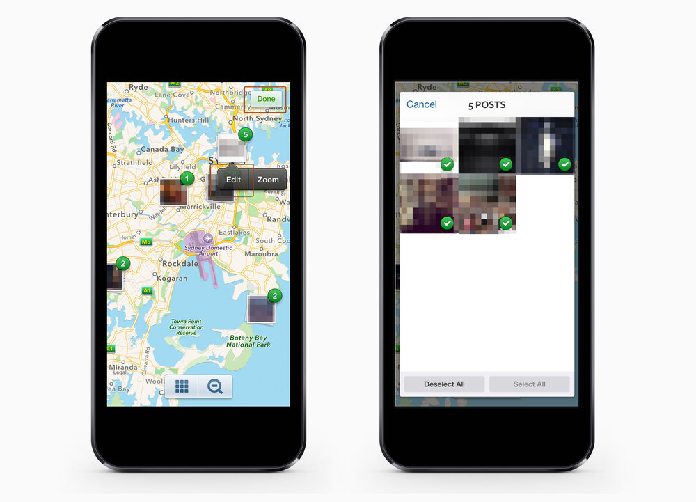 How to Untag Photos on Instagrams Photo Map Step 04-06