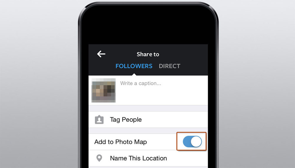 Instagram Photo Map Exposes Users Private Home work address Information