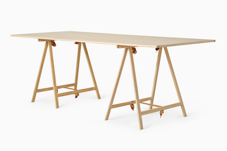 MENU KNOT TRESTLE DESK