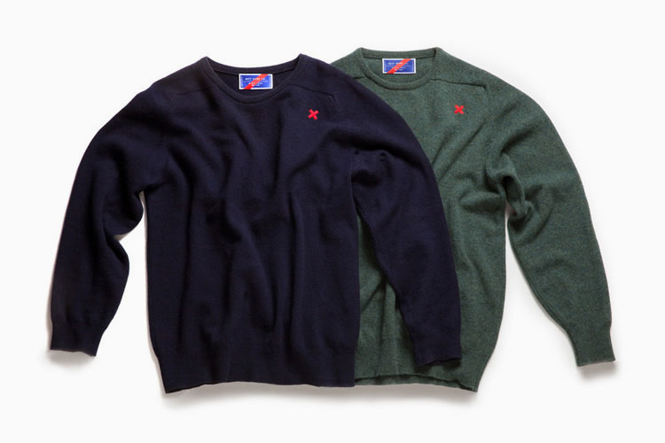 BEST MADE LAMBWOOL CREW NECK SWEATER