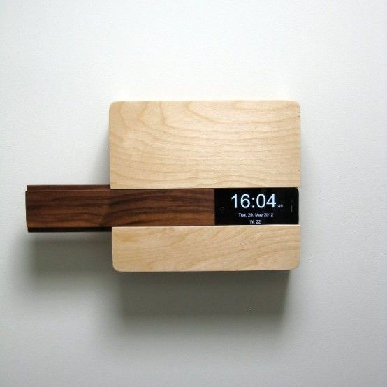IPHONE DOCK KEY HOLDER WALL MOUNTED ITCHBA.COM