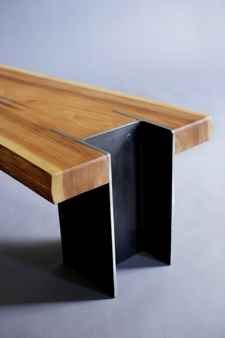 LIVE EDGE CEDAR BENCH TABLE INDUSTRIAL DESIGN ITCHBAN.COM