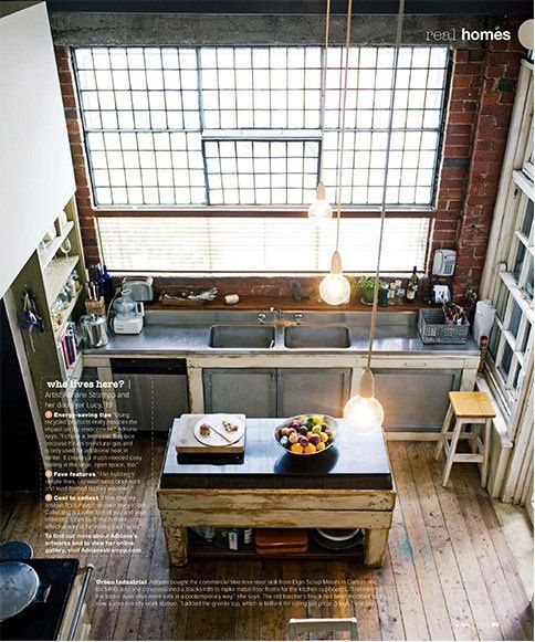 LOFT INSPIRED HOME KITCHEN ITCHBAN.COM