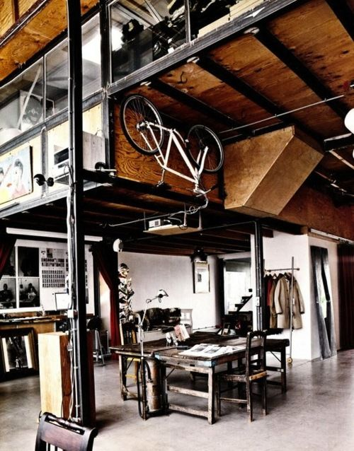 WORKSHOP STYLE BICYCLE OFFICE SHOWROOM APARTMENT ITCHBAN.COM