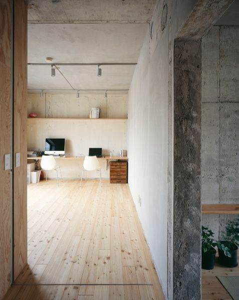Concrete and Pine Loft Apartment ITCHBAN.com
