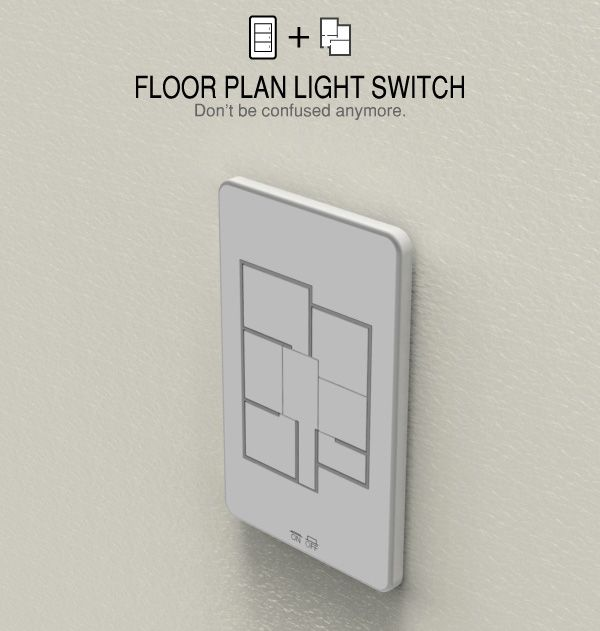 Floor plan light switch IoT Internet of Things ITCHBAN.com