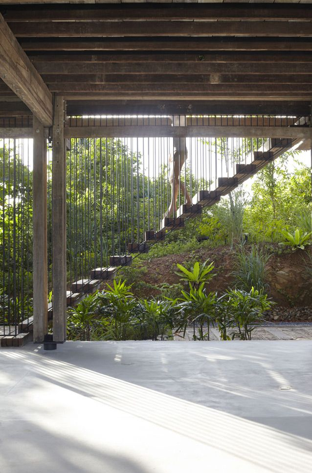 Langkawi House exterior stair case design ITCHBAN.com