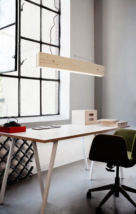 Natural Light and overhead light Workspace ITCHBAN.com