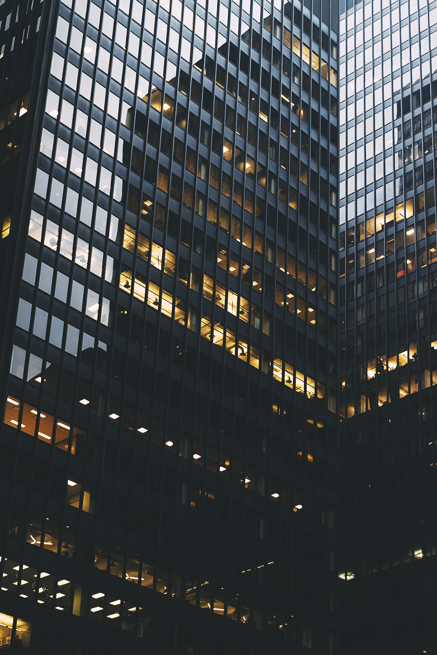 Tall dark towering building titans ITCHBAN.com