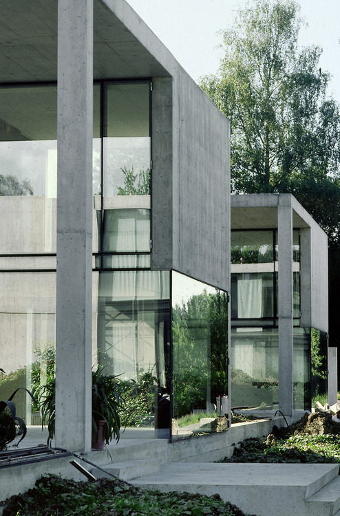 Concrete and glass combination architecture ITCHBAN.com