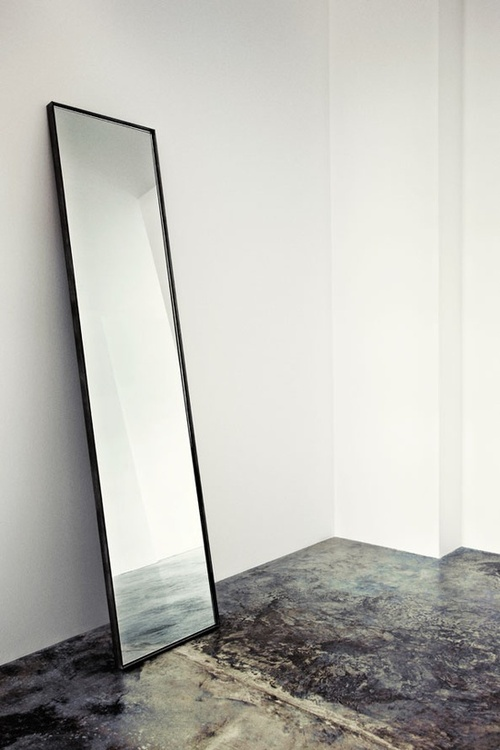 Full Length Mirror Leaning against wall ITCHBAN.com.jpg