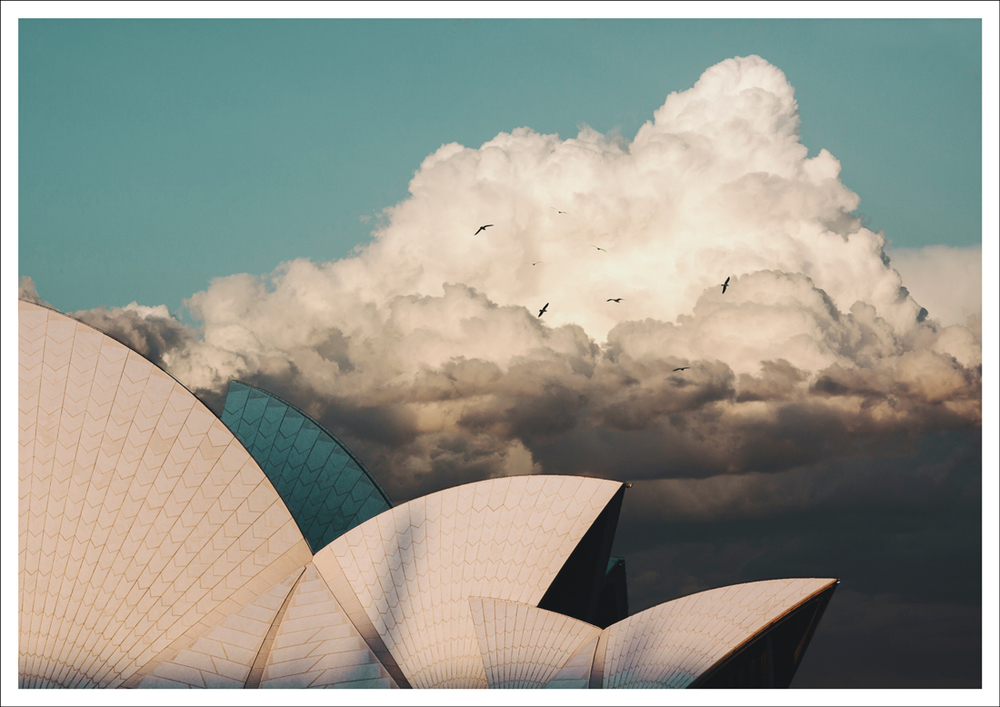 Sydney Opera House ITCHBAN print