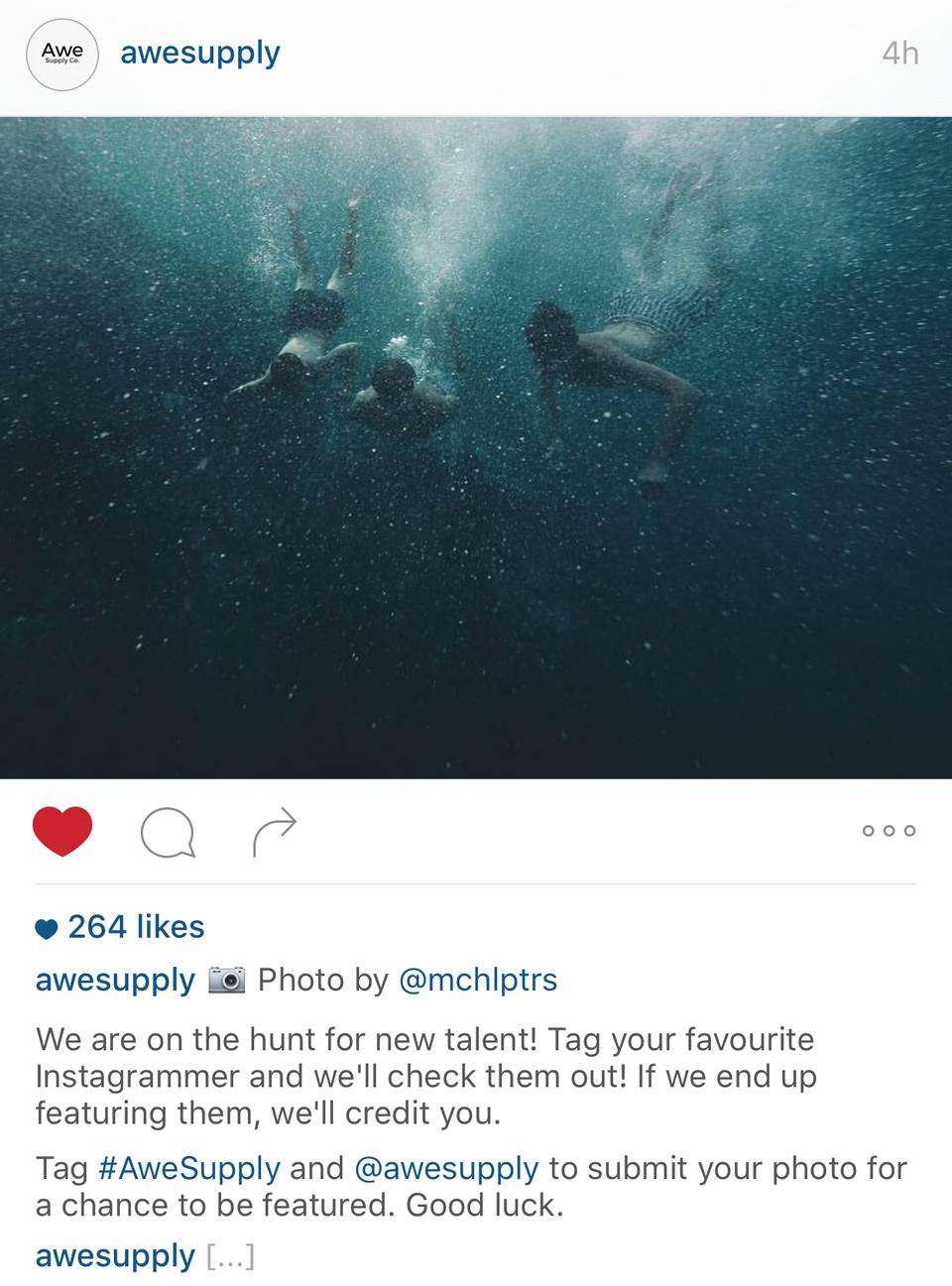 Hidden Hashtags & Caption Spaces