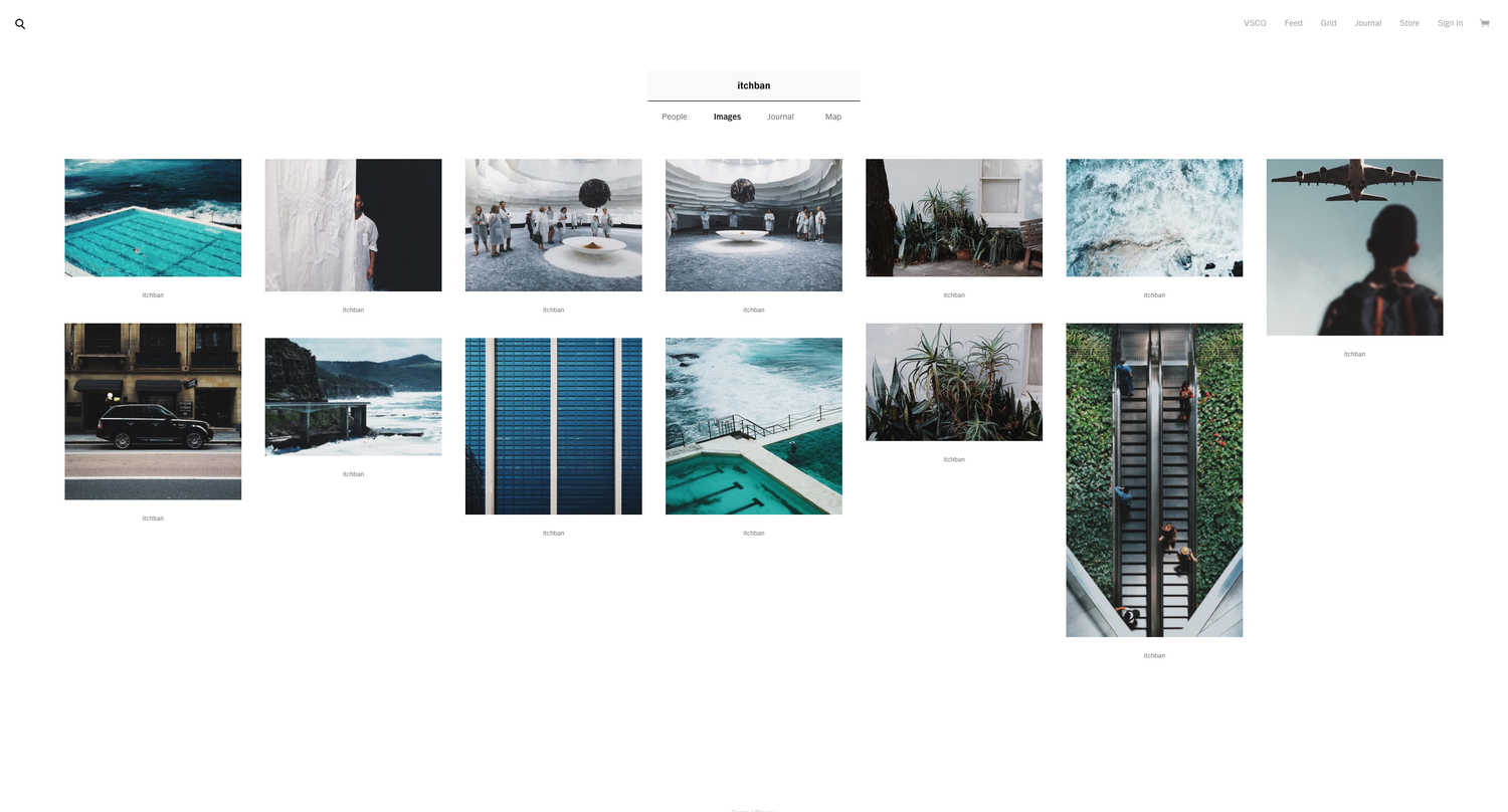 How to get selected for the VSCO Grid — itchban