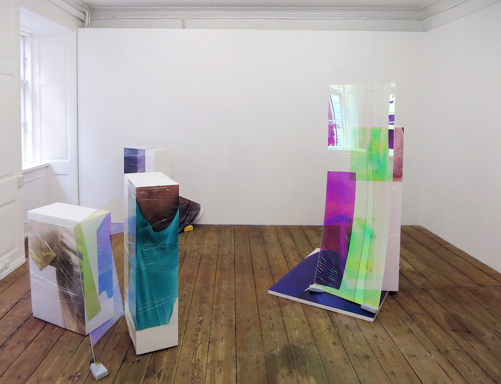 Sweaty Sculptures, solo show at Green Is Gold, Copenhagen during Copenhagen Art Week 2015
