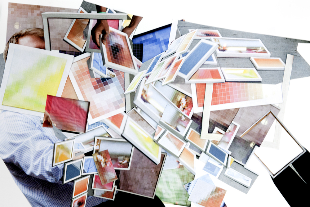 Framexplosion,Ultrachrome print / diasec,120 x 180 cm