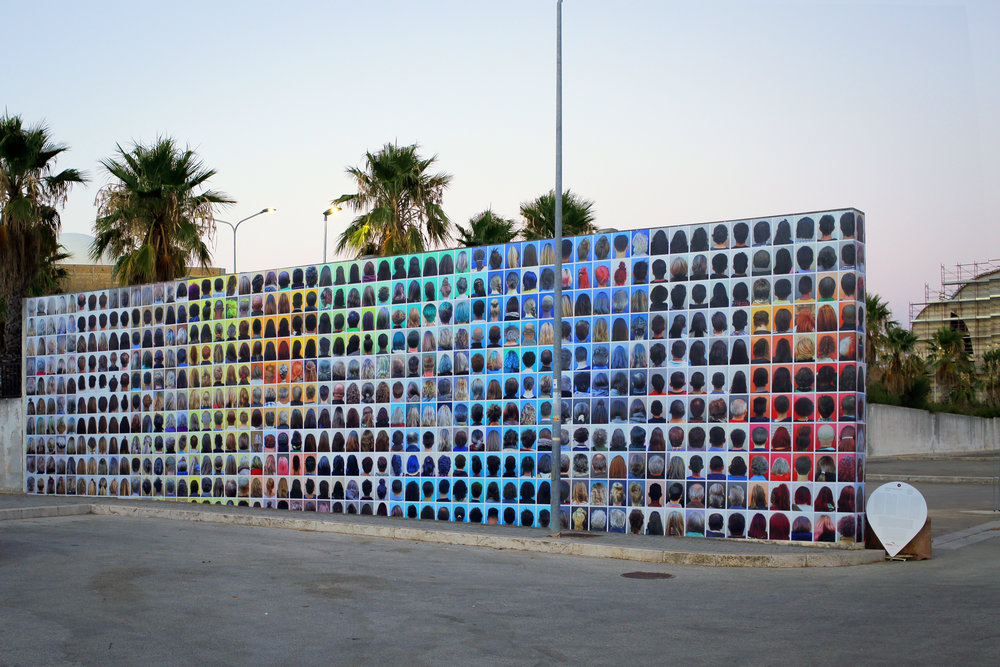 AHEAD (version 3) at PhotoRoad Festival in Gibellina, Sicily (2016)