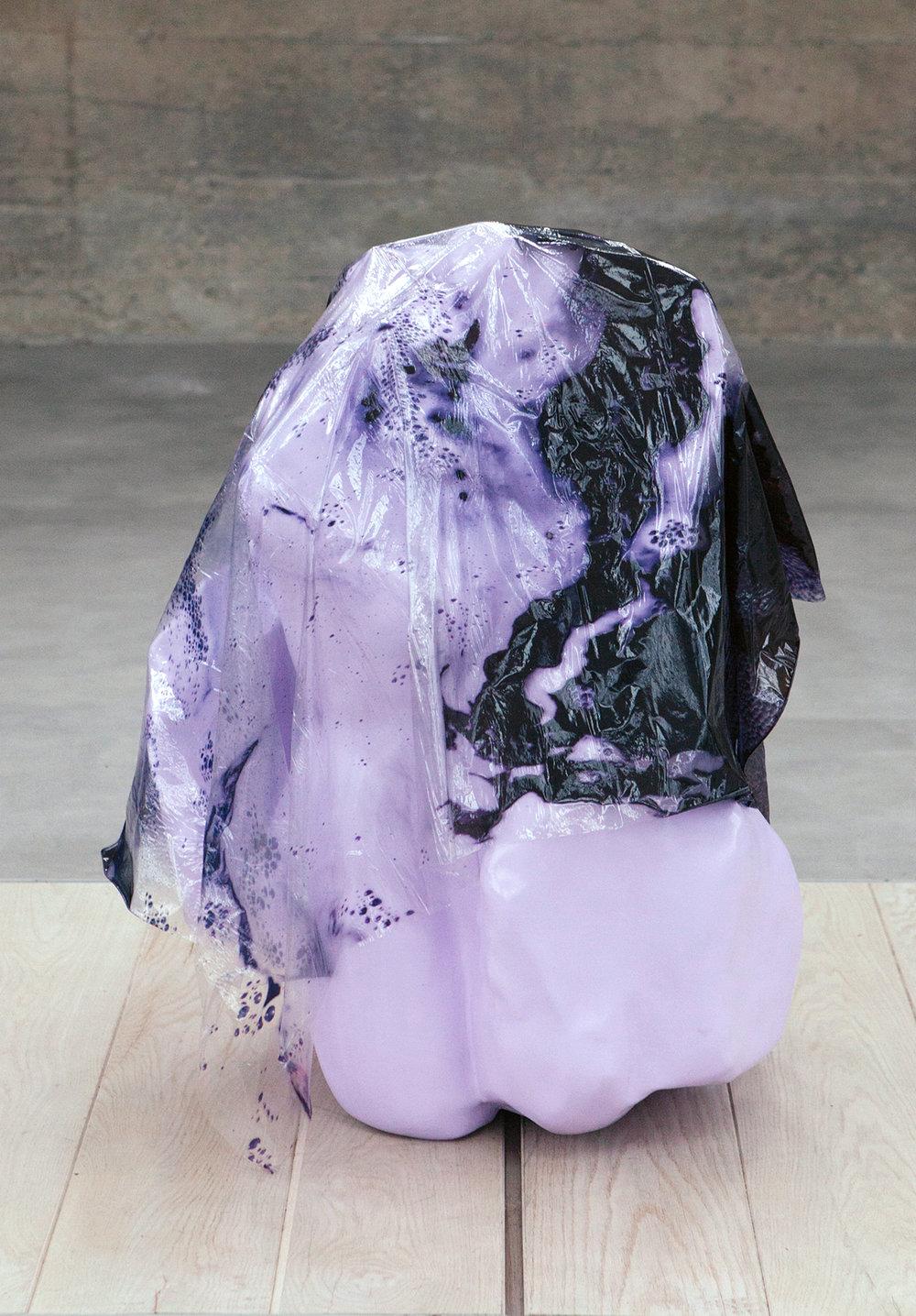 SQUABBLE ,Sculpture, 2017,91 x 70 x 64 cm,Inkjet print on plastic, polystyrene, fiberglass, paint