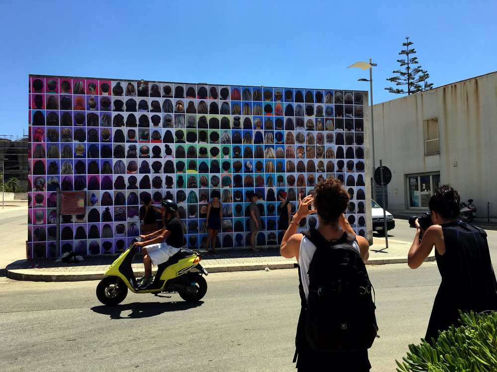 AHEAD @PhotoRoad Festival in Gibellina, Sicily (2016)