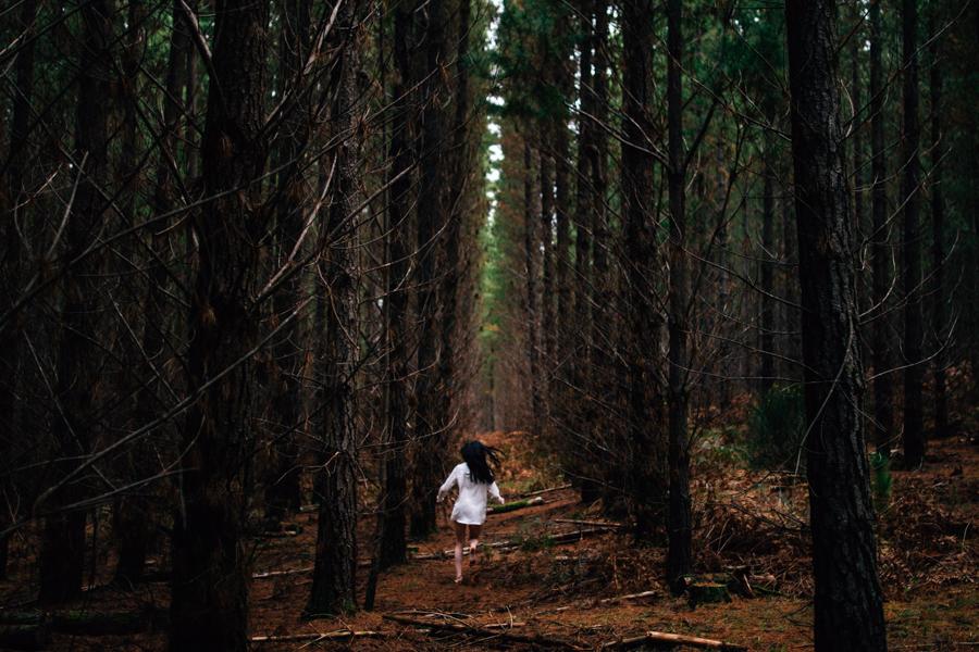 Forest Dreaming - Georgia Sapwell by Dean Raphael
