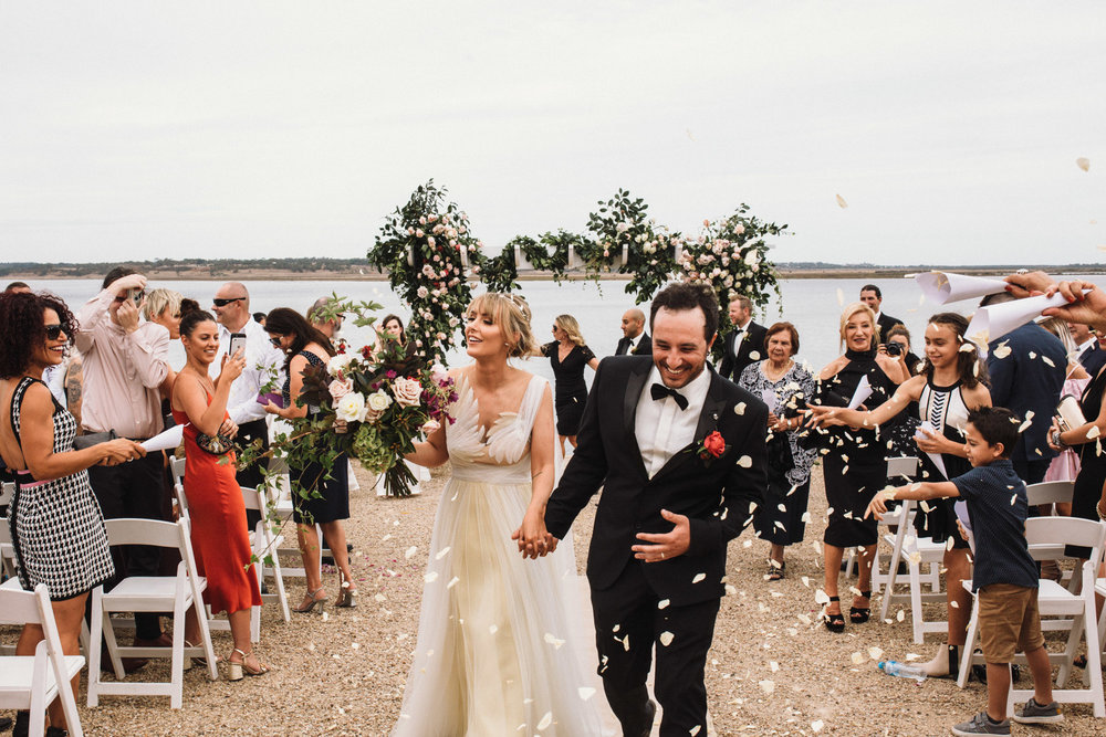 Hannah & Jason 17.03.2018, married at Campbell Point House, Bellarine Peninsula