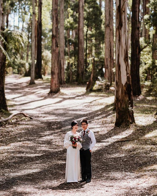 A huge and warm congratulations to Tian & Patrick 🌺 Yesterday was 39 degrees however out in this forest it was 6 degrees cooler. They introduced me to a full Chinese ceremony, something in so grateful to experience, something I'm truly grateful for 🧡