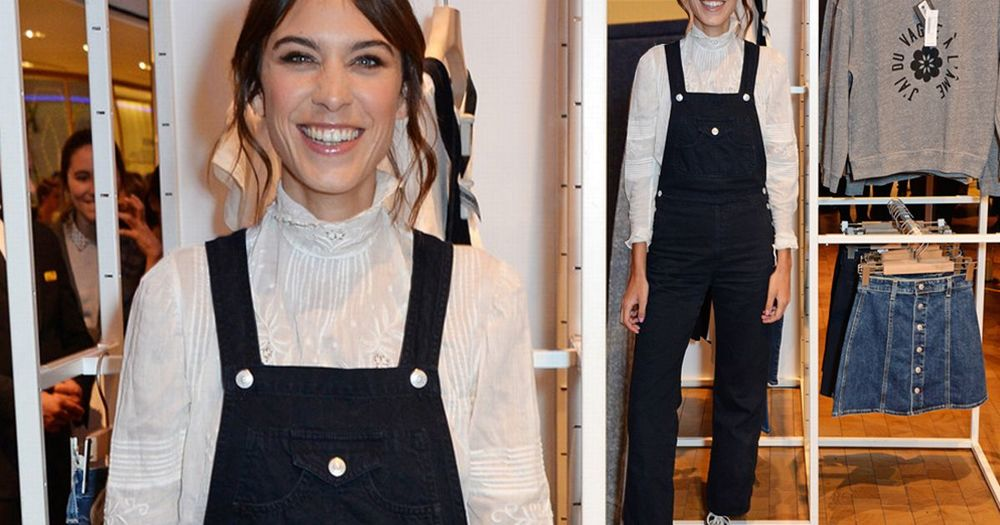 Alexa Chung has been a lover of this laid back look and her Archive collaboration with  M&S    will be hitting the store very soon to include even more Lady Diana frills!