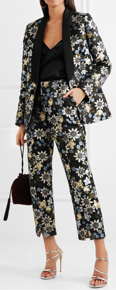 Erdem  Jacket £1665   Trousers  £825