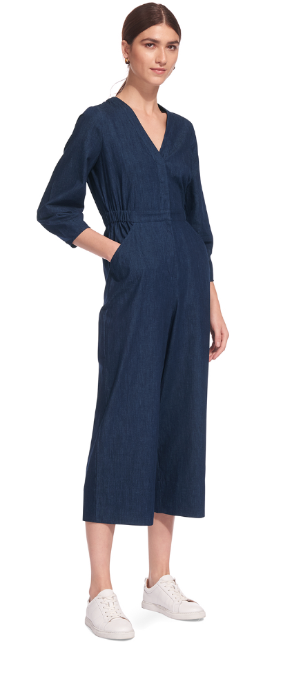 Denim Cinita Jumpsuit Whistles £169