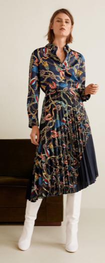 Mango Hankerchief Skirt £49.99  &