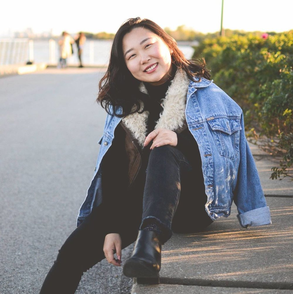 Esther Han '19  DJ Journalism/IMC certificate/Asian American Studies Favs: Brown Eyed Soul, Sam Kim, pH-1, 이수현 from Akdong  Guilty of Playing: too much Sam Kim Best Concert: Tori Kelly