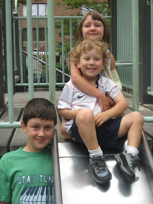 2008, Our kids 1st summer in the city.