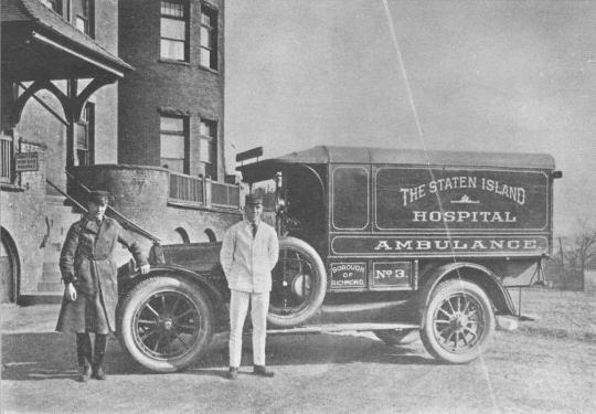 EMS ambulance
