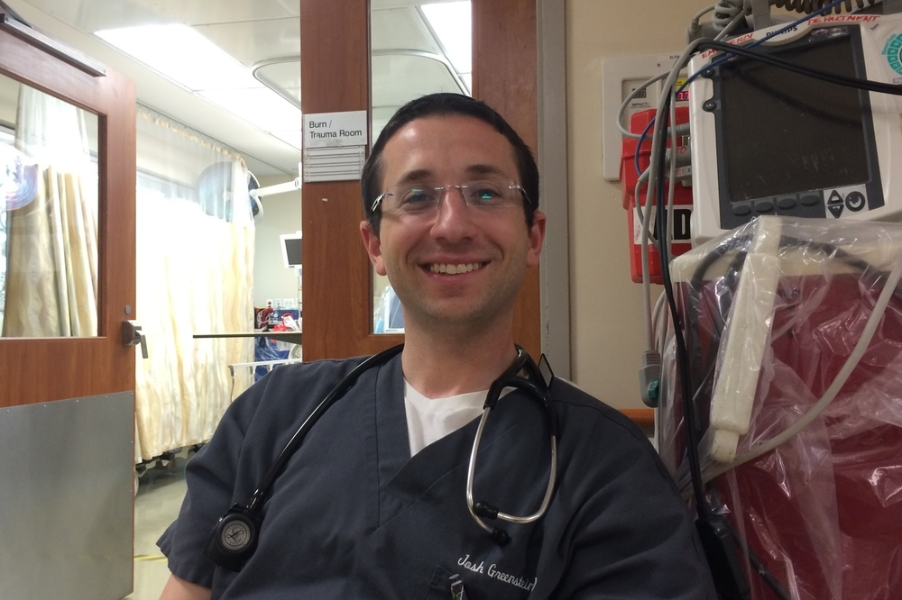 Joshua Greenstein, MD (2015)