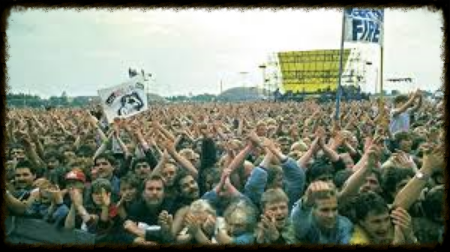 Springsteen Concert. East Berlin. 1988