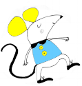 mouse dancing blue yellow.png