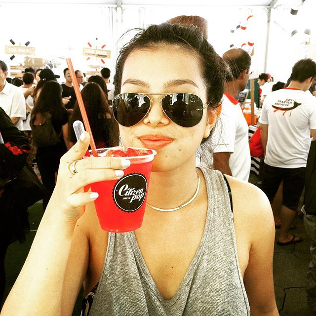 Who's the cool cat in the photo?  See you guys this weekend, June 4-5 from 11am - 10pm for the TLP X #DBSMarinaRegatta 2016.  ThePromontory @ Marina Bay.  #Citizenpop #citizenpopsodabar