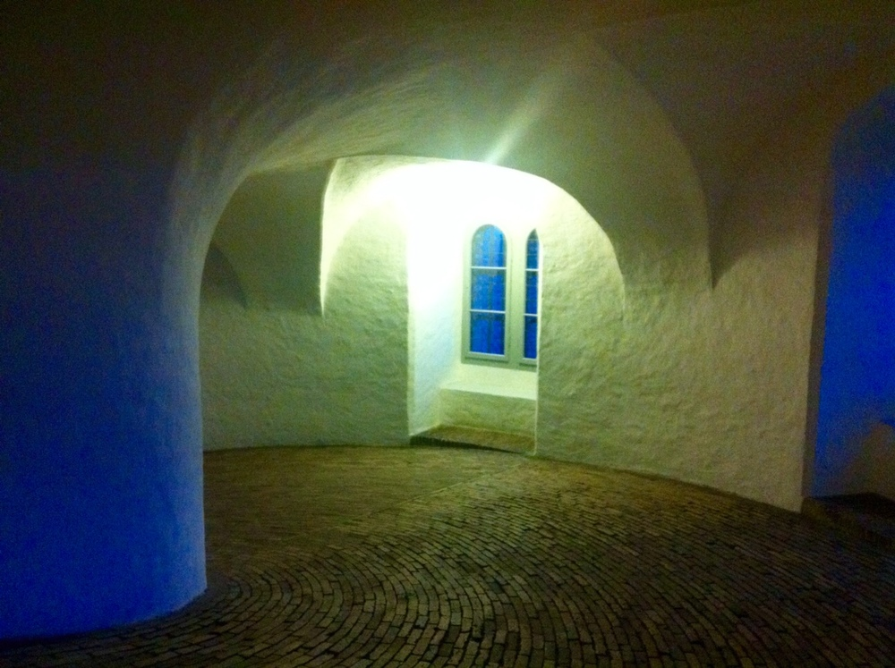 Rundetårn ved aftenstide. Foto: Inge Panduro 2015