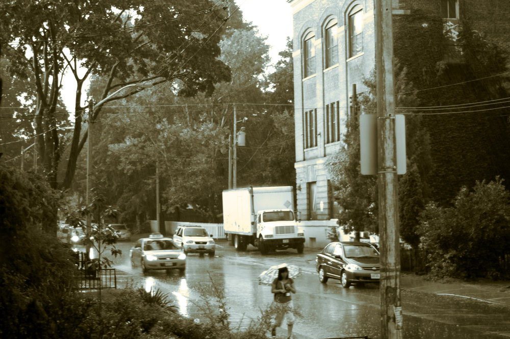 """Toronto Downpours"" by Fox / This image, like all images on this site, is licensed under a Creative Commons Attribution 4.0 International License."