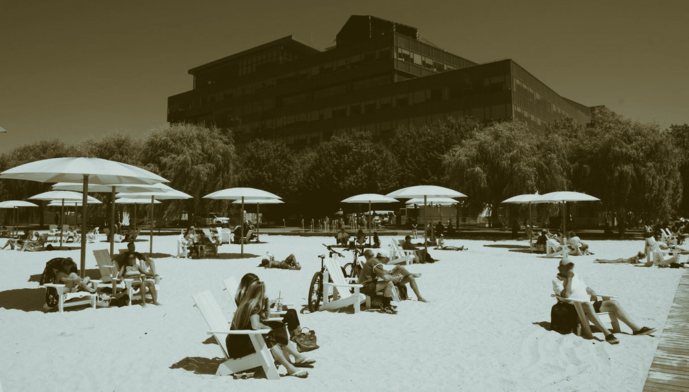 """Toronto: Sugar Beach"" by the City of Toronto, edited by A. Malcolm"