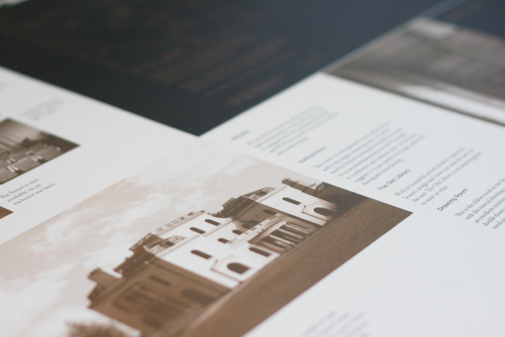 Bolter Design brand and identity design for Moggerhanger Park